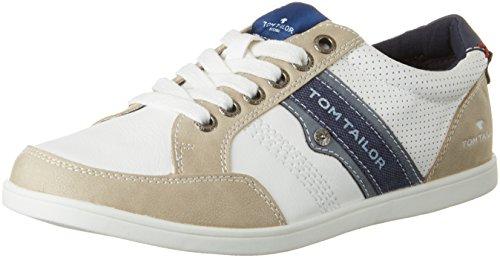 Tom Tailor 2780204 - Zapatillas de casa Hombre Weiß (white)