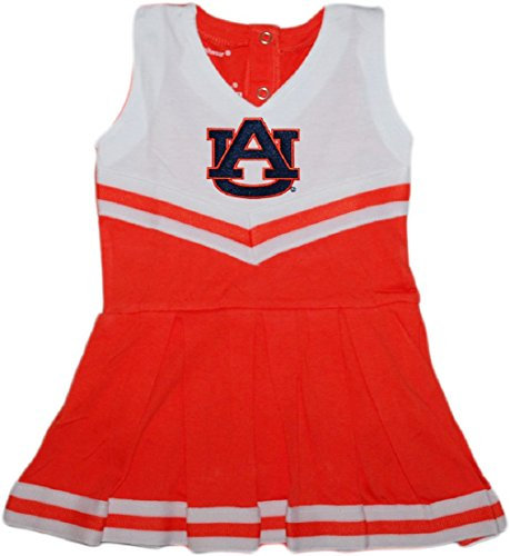 Auburn University Tigers Baby and Toddler Cheerleader Bodysuit Dress