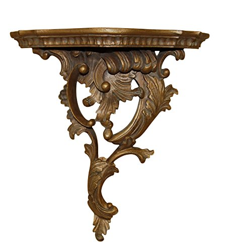 Hickory Manor House Right Renaissance Bracket Decor, Antique Gold (Renaissance Bracket)