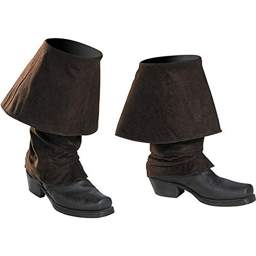 Disguise Mens Disney Of The Caribbean Pirates Adult Boot Covers Costume Accessory
