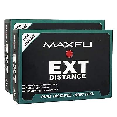 Maxfli EXT Distance White Golf Balls 24 Pack