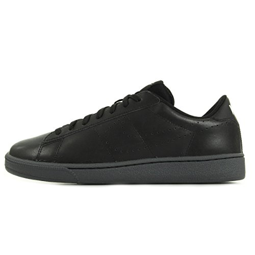 (Nike Tennis Classic Ultra LTHR Mens Trainers 749644 Sneakers Shoes (US 9, Black Dark Grey White 004))