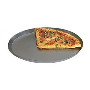 "American Metalcraft Anodized Hard 14 Gauge Aluminum 15"" Pizza Pan"