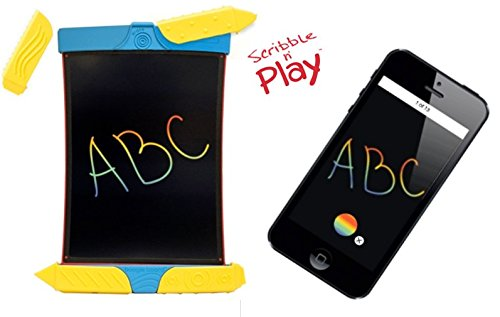 Boogie Board Scribble and Play Color LCD Writing Tablet Stylus Smart Paper for Drawing eWriter Ages 3+