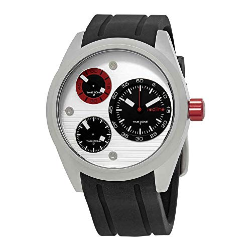 Redline Analog - red line Men's RL-10557-02S-RDA Jetstream Analog Display Quartz Black Watch