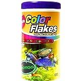 Color flakes alimento para peces tropicales 150g 7500211001597