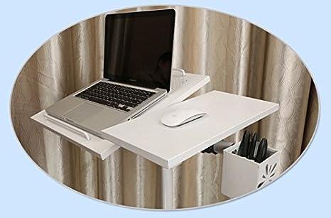Notebookstä nder HBT 68x40x95cm Verstellbare Laptoptisch Metall Beistelltisch mit Pinselbehä lter + Rollen Samt Bremsen + 3 Entlü fter Schwarze Sofatisch inkl. Installation Kit (Schwarz) MIYAOU
