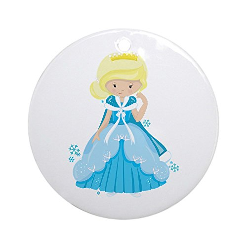 Ornament (Round) Ice Princess Snowflake
