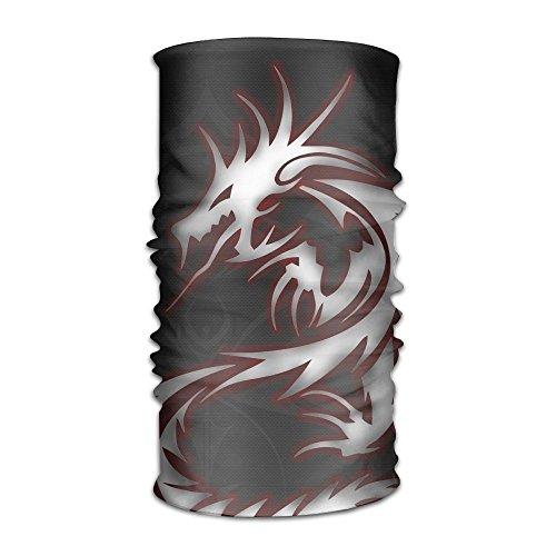 Dragon Tribal Logo Outdoor Scarf Headbands Bandana Mask Neck Gaiter Head Wrap Mask Sweatband (Cool Dragon)