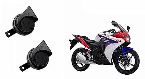 Roots Wind Tone Skoda Type Bike Horn For Honda Cbr 150r Set Of 2