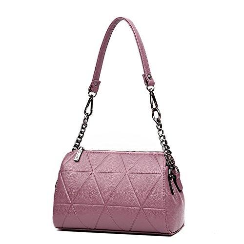 Messenger bag shoulder bag chain bag purple