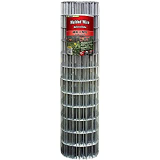 "YARDGARD 308302B Fence, 48"" x 50'/4"" x 2"", Color - Galvanized (B00C4TQIQU) 