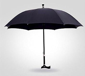 ssby multifunción bastón paraguas, Super reforzado long-stem paraguas para las personas mayores,