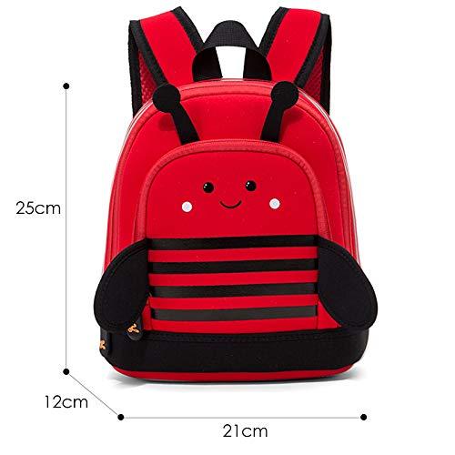 HPADR KinderrucksackCartoon Rucksäcke Für Mädchen Kinder Mode Niedlich Schultasche Kindergarten Kinder Schultaschen R Dinosaurier Bee
