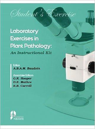 Buy Laboratory Exercises in Plant Pathology: An Instructional Kit