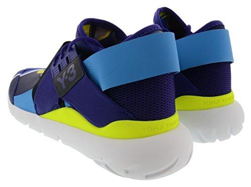 Y-3 Womens Y-3 Qasa Elle Lace Sneakers Aopbro/Cpurpl/Solblu fhZvhapEF