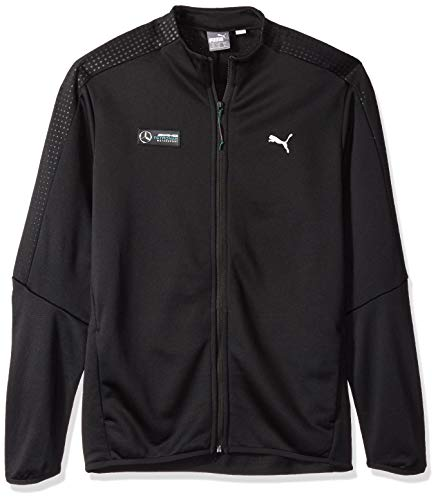 (PUMA Men's Mercedes MAPM T7 Track Jacket, Black, XXL)