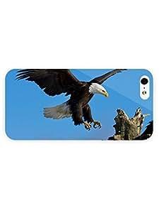 3d Full Wrap Case for iPhone 5/5s Animal Bald Eagle92 wangjiang maoyi