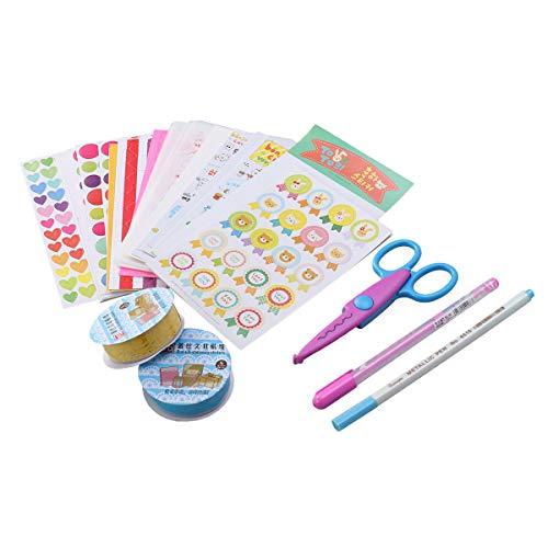 Vosarea Adhesivos Decorativos Accesorios para álbum de Fotos de Bricolaje Kit de Material para álbumes de Fotos Calendarios...