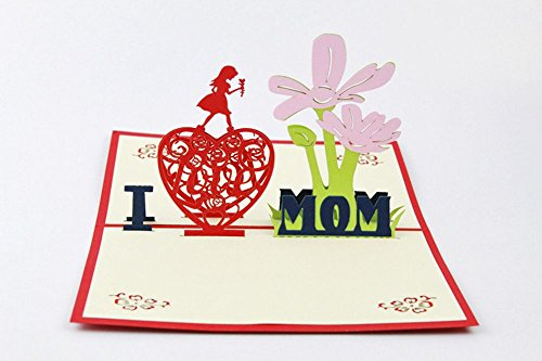 pop up birthday cards for mom - isharecards handmade 3d pop up greeting cards thank you