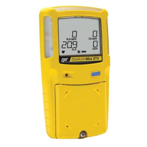 (BW Technologies Gas Alert Max XT II Four Gas Detector, O2/CO/H2S/LEL)