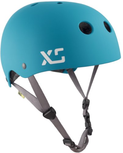 XS Helmets Classic Skate Helmet, X-Small/Small, Matte Turquoise For Sale