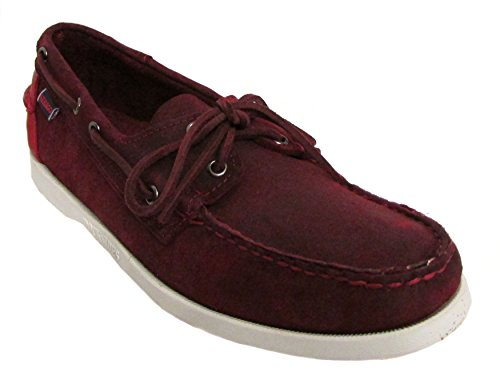 Sebago Mens Spinnaker Violet Chaussure Taille Nous 8.5