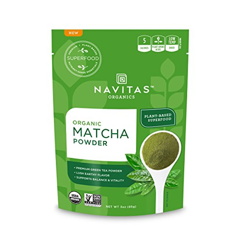 Navitas Organics Matcha Powder, 3oz. Pouch