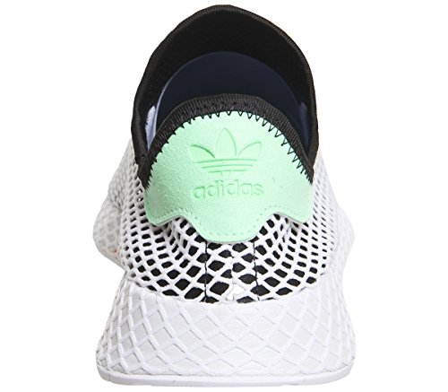Adidas Herren Deerupt Runner Gymnastikschuhe Core Black-easy Green-footwear White (b28076)