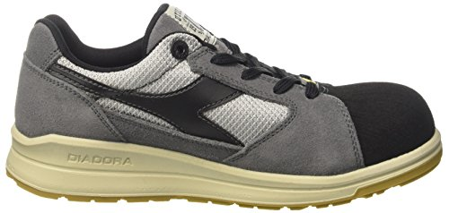 Text Mixte nero Jump Adulte De Chaussures D Acciaio Travail Pro Esd Diadora Gris Antracite S1p grigio Low qwRvZZpt