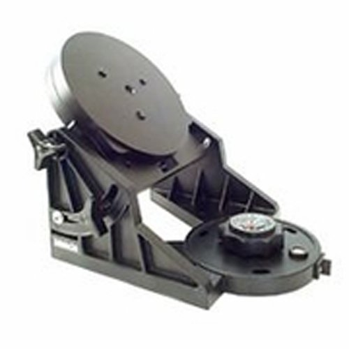 Meade Instruments 07389 LX90 Equatorial Wedge Adapter Plate (Black) by Meade Instruments