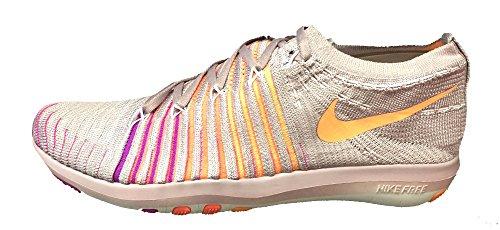 Nike Kvinders Frie Omdanne Flyknit Tværs Træningssko Blomme Tåge XtBthP2