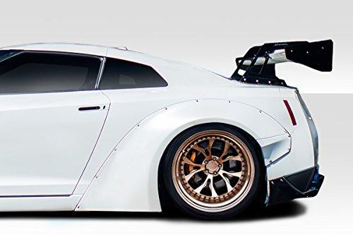 Duraflex ED-RPN-502 LBW Rear Fender Flares - 4 Piece Body Kit - Compatible For Nissan GTR 2009-2018