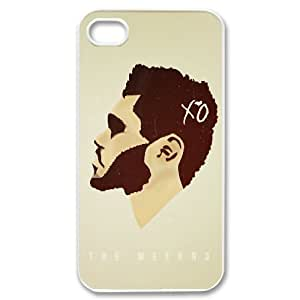 I-Cu-Le Customized Print The Weeknd XO Pattern Back Case for iPhone 4/4S