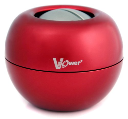 Kernpower® Hand und Armtrainer V-Power Metall Powerball, Rot, 038