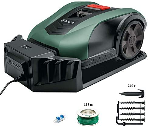 Tondeuse robot Bosch - Indego M+ 700 (18 V, Jusqu'à 700 m², Largeur de coupe 19 cm) - Home Robots