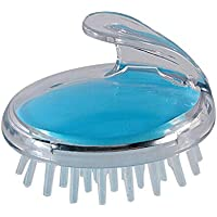 شامبو فرشاة التدليك تنظيف فروة الرأس السيليكون السيليكون الطبي وسادة هوائية شامبو حمام مشط