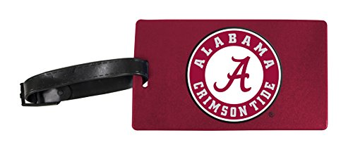 Alabama Crimson Tide Luggage Tag 2-Pack by R and R Imports