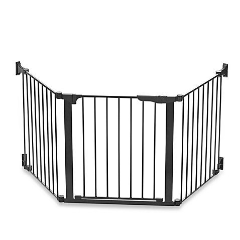 KidCo Baby Safety Gate Custom Fit Auto Close ConfigureGate in Black by KidCo