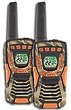 (2) COBRA CXT1045R-FLT-CAMO 37 Mi Waterproof Floating 2Way Radios Walkie Talkies