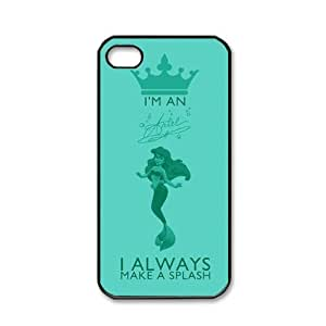 Pink Ladoo? ipod touch 4 touch 4 Case Phone Cover The Little Mermaid Pattern