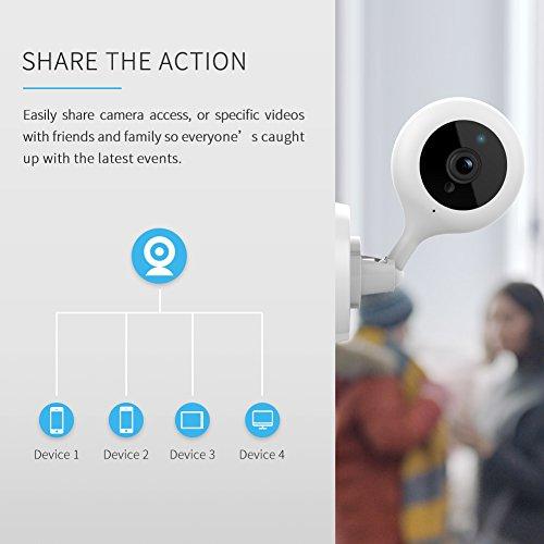 APEMAN WiFi Camera 1080P IP Wireless Surveillance Home Security Camera Cloud Service 2-way Audio Night Vision CCTV Cam Motion Detection by APEMAN (Image #8)