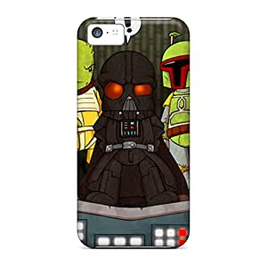 Hot Design Premium Jry24526ZCOe Cases Covers Iphone 5c Protection Cases(bounty Hunters)