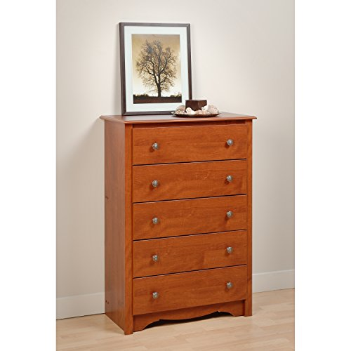 Cherry Monterey 5 Drawer Chest
