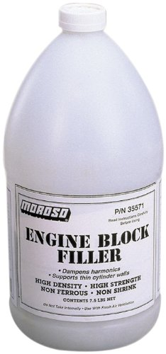 Moroso 35570 Engine Block Filler - 1 Gallon, (Pack of 4)