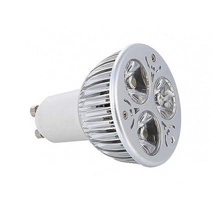 Alverlamp LG002 - Lámpara led dicroica 3x1 4w gu10 6000k