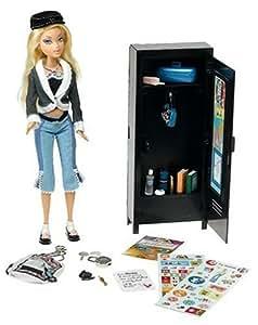 Amazon My Scene Secret Locker Barbie Toys & Games