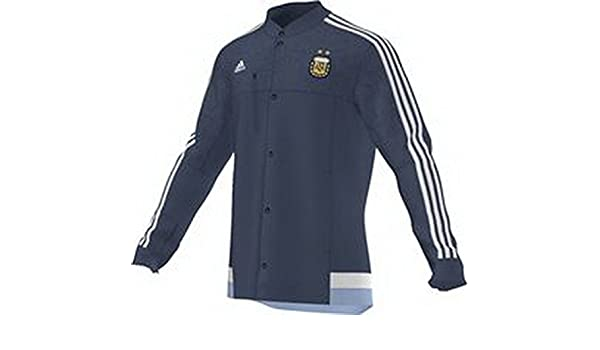 Amazon.com : 2015-2016 Argentina Adidas Anthem Jacket (Night Marine) : Sports & Outdoors