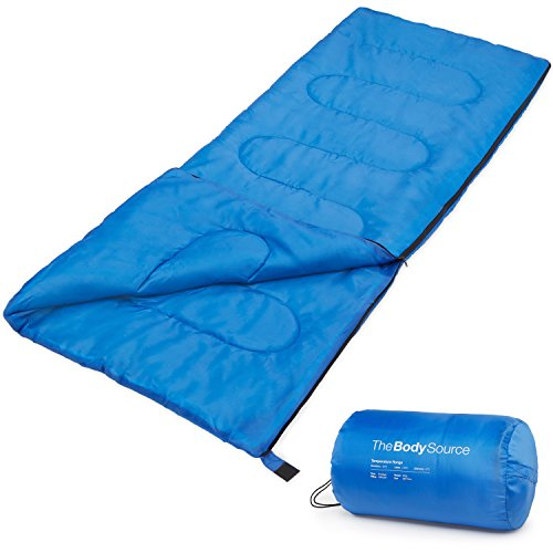 Active Era Premium Lightweight Single Sleeping Bag – Warm and Water Resistant, Perfect for Indoor Use or Outdoor Camping, Hiking, Fishing & Travelling by Active Era