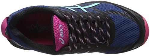 Asics Gel-Fujitrabuco 5, Scarpe da Trail Running Donna Multicolore (Poseidon/Aruba Blue/Sport Pink)